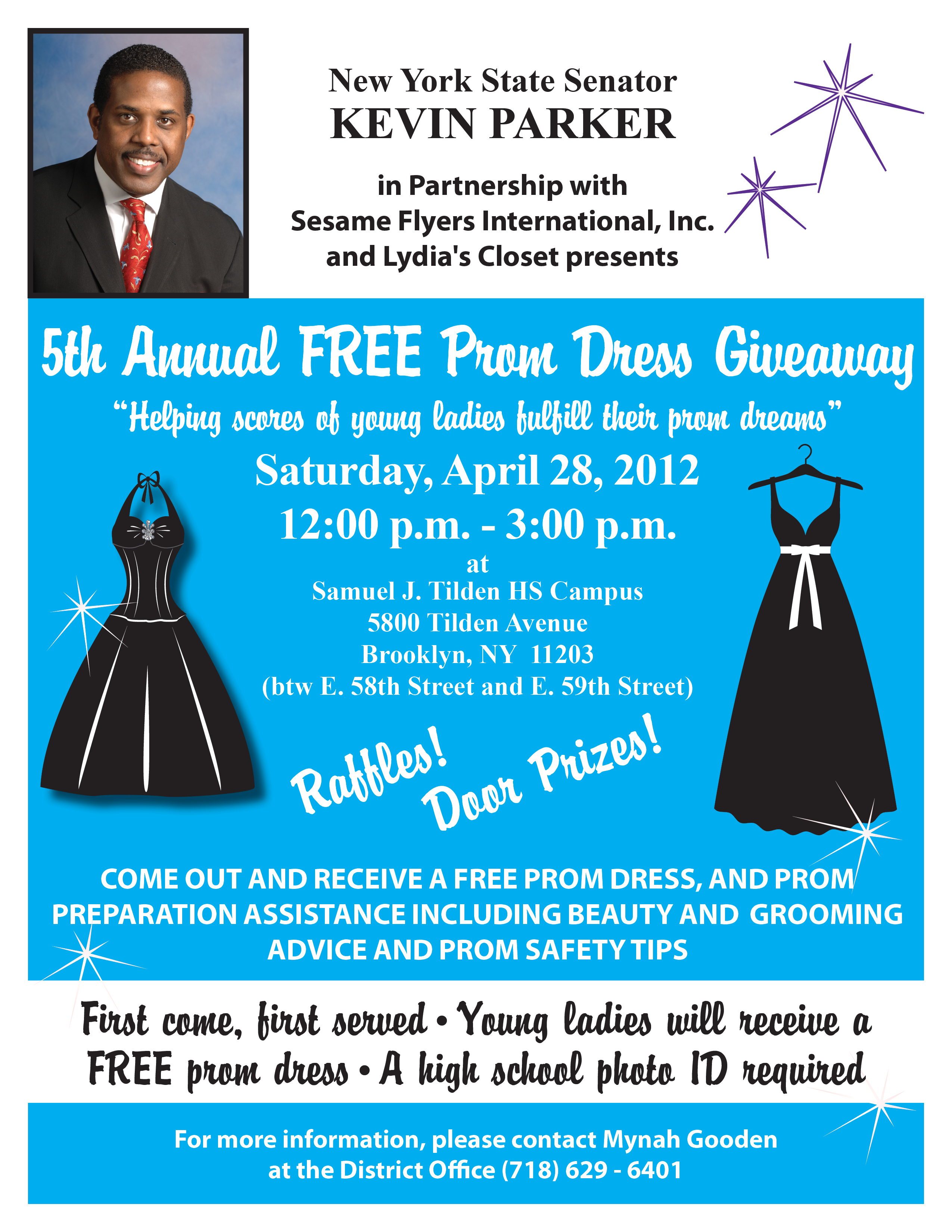 prom giveaway 5th annual free prom dress giveaway ny state senate 7269