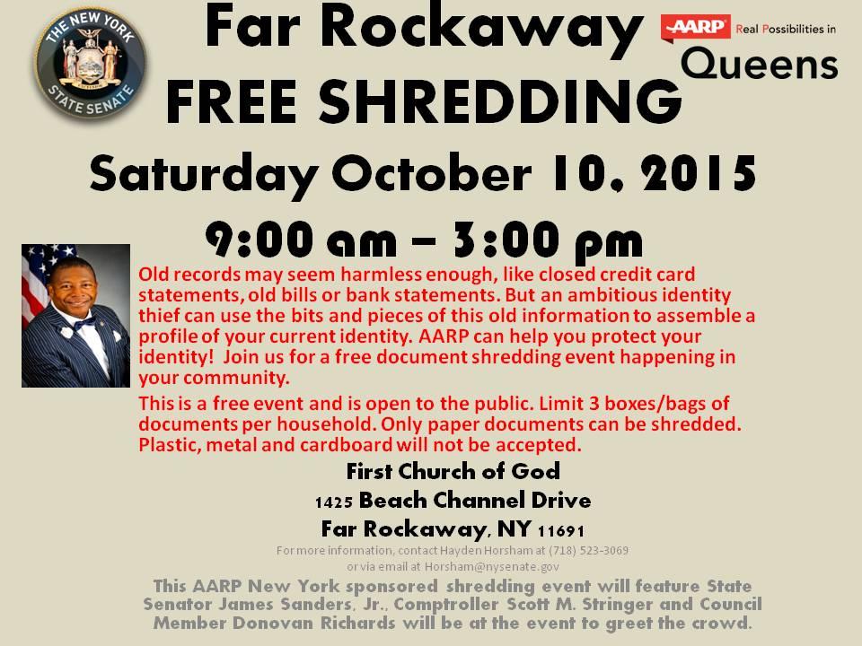 Free Shredding Event | NY State Senate