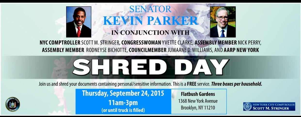 Shred Event 2015 | NY State Senate