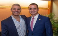 Senator Carlucci and Andy Cohen
