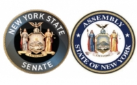 Senate and Assembly seals