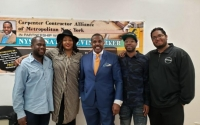 Senator Parker Hosts Apprentice Workshop In Partnership With The Carpenter Contractor Alliance of Metropolitan New York