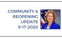 community & reopening 9-17-2020
