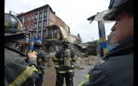 FDNY picture of building collapse at 348 Court St
