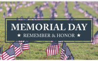 Even on this Memorial Day when the COVID-19 response changes our lives and our rituals, we will continue to honor this observance.