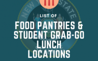 Food Pantries & Student Grab-n-Go Locations