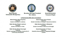 Senator Montgomery, Brooklyn Borough President Adams and Assemblymember Wright sponsor Joint Public Hearing to Examine The Crisis Facing Homeowners In Brooklyn
