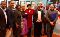 Senator Serrano and Majority Leader at Caribbean Cultural Center