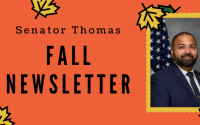 Senator Kevin Thomas Fall Newsletter