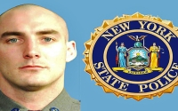 """""""We hope that it will help express the enduring respect of our local community, our entire region, and the State of New York.  The 'Trooper Nicholas F. Clark Memorial Bridge' will forever honor Nick's memory and forever stand as a reminder of his service,"""" said Senator O'Mara and Assemblyman Palmesano."""