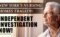 We should not be finding out the truth of this tragedy in nursing homes through leaks of secret Democrat-only meetings.