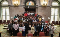 Senator Roxanne J. Persaud brought her constituents from Brooklyn to Albany for the New York State Association of Black and Puerto Rican Legislators's 48th Annual Legislative Conference on Feb. 16, 2019.