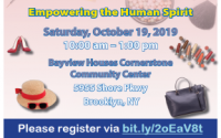 """Please join us for our """"A New You"""" - Empowering the Human Spirit workshop with Assemblymember Jaime R. Williams on Saturday, October 19 from 10 a.m. to 1 p.m. at Bayview Houses Cornerstone Community Center (5955 Shore Pwky). Come by for information about empowering yourself and others, as well as fashion and makeup tips and a free lunch, plus giveaways."""