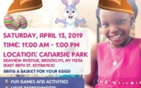 Senator Roxanne J. Persaud invites families to Senate District 19's third annual FREE Easter Egg Hunt at Canarsie Park! There will be fun games and activities, light refreshments, free giveaways and a special guest appearance by the Easter Bunny. Children must be accompanied by an adult and bring a basket for their egg collecting. Please RSVP via goo.gl/forms/CChl5logefycqHlA3.