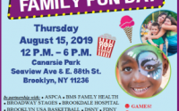 Senator Persaud's annual Family Fun Day will occur at Canarsie Park on Thursday, Aug. 15 from 12 to 6 p.m. this year. Enjoy games, giveaways, activities, refreshments, resources and more for FREE!