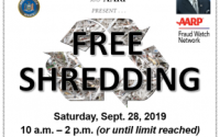 Senator Persaud, in partnership with Councilmember Alan Maisel, Assemblymember Nick Perry and AARP, present a FREE Shredding Event in Senate District 19 on Saturday, Sept. 28 from 10 a.m. to 2 p.m. (or until the limit is reached) at the District Office (1222 E. 96th St, Brooklyn, NY 11236). Come shred your confidential documents AND receive resources and information from the DEP, NYPD and DSNY!