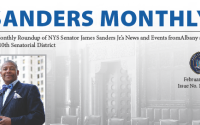 A Monthly Roundup of NYS Senator James Sanders Jr.'s News and Events from Albany the 10th Senatorial District