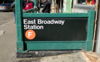 F Train East Broadway Station