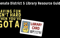 Senate District 5 Library Resource Guide