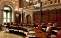 """""""This new law, which I was proud to help sponsor, puts a stop in this instance to a long-standing and questionable practice of New York State taking settlement funds and dumping them into the state's general fund to be used for any purpose at all."""
