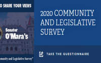 """This annual survey helps provide meaningful and useful snapshots of what's on the minds of area residents paying attention to state government and willing to give some thought to the choices being debated and decided in Albany,"" said Senator O'Mara."