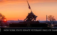 """""""So many veterans served our nation courageously and honorably, and then returned home to lift the lives of our local communities,"""" said Senator O'Mara."""