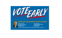 Senator Montgomery's Guide to Early Voting