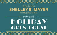 Shelley B. Mayer invites you to her Annual Holiday Open House