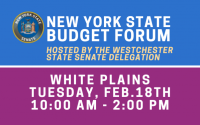 White Plains Budget Forum