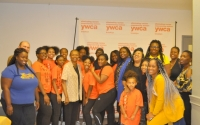 Senator Montgomery joins the YWCA of Brooklyn, St. Joseph's College and the Seven Roses Legacy Foundation (SRLF) for their Annual Back To School Giveaway
