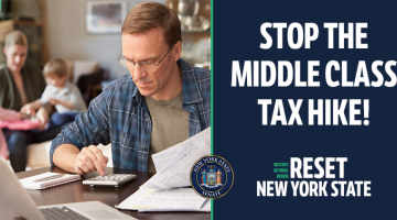 Stop the Middle Class Tax Hike Banner