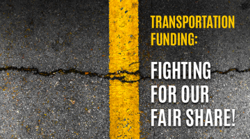 """The restoration and strengthening of state support for local, upstate and rural roads, bridges and culverts must be a stronger priority in this budget."""""""
