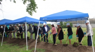 Sands Center for Allied Health groundbreaking