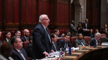 Senator Brooks Speaks on the Floor of the NY Senate