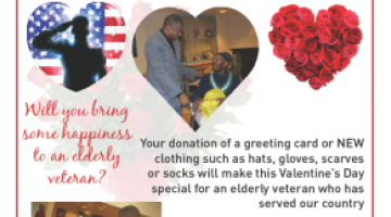 Donate a Valentine's Day gift to an elderly vet