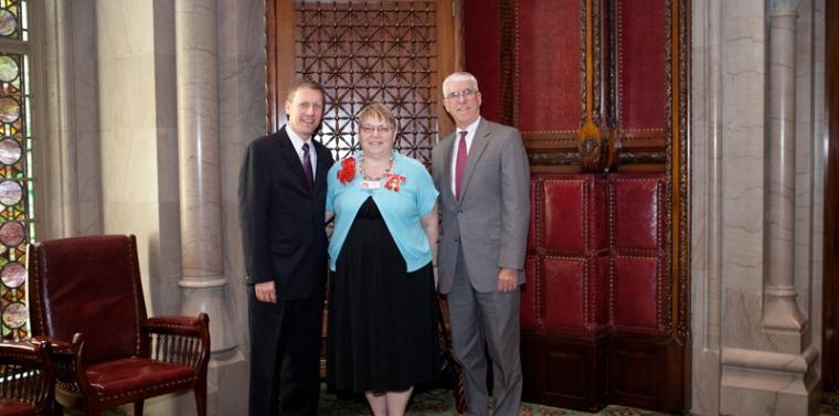 Senator Valesky Names Judy O'Rourke New York State Senate