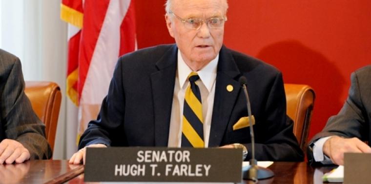 Senator Looks To Ease Burden For >> Sen Farley Announces Senate Passes Legislation To Ease The