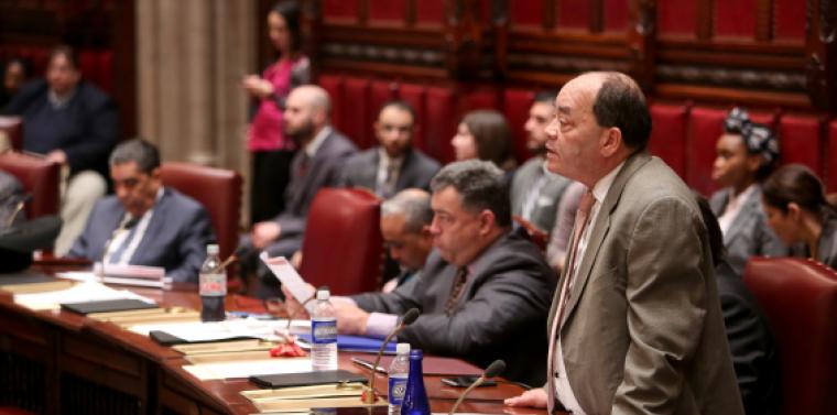 Senator Dilan Debates New York State Budget