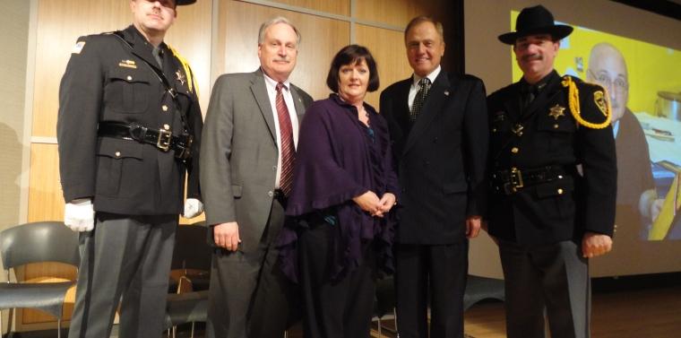 Senator Bonacic at the Orange County Sheriff's Office Annual