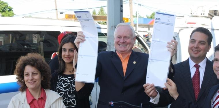 Senator Golden Announces Express Bus Service To Be