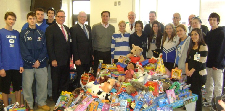 "Senator Fuschillo Helps ""Extend the Holidays"" for Children in"