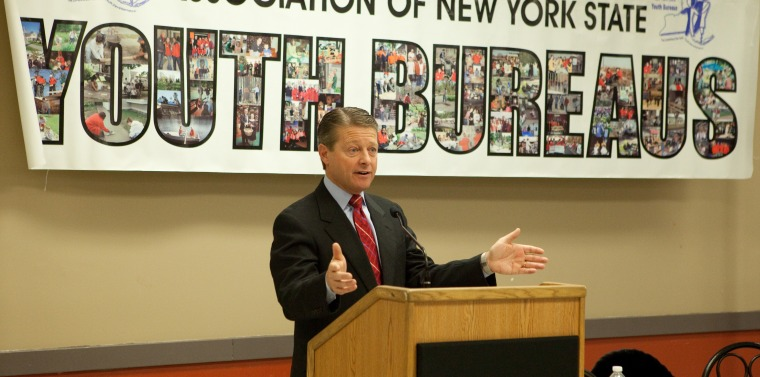 Gallivan Addresses Young Adults From Across New York During The