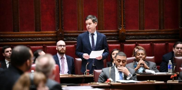 Hoylman debates Child Victims Act on floor