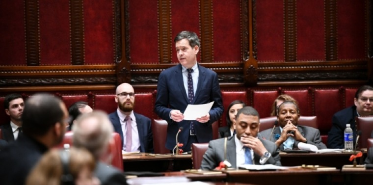 Hoylman debates Child Victims Act on floor