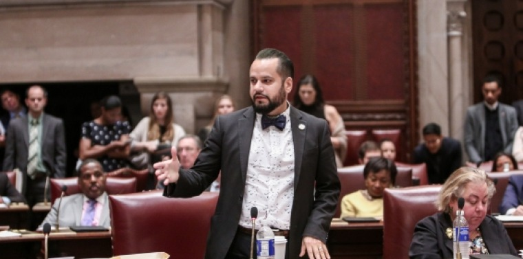 Serrano on Senate Floor