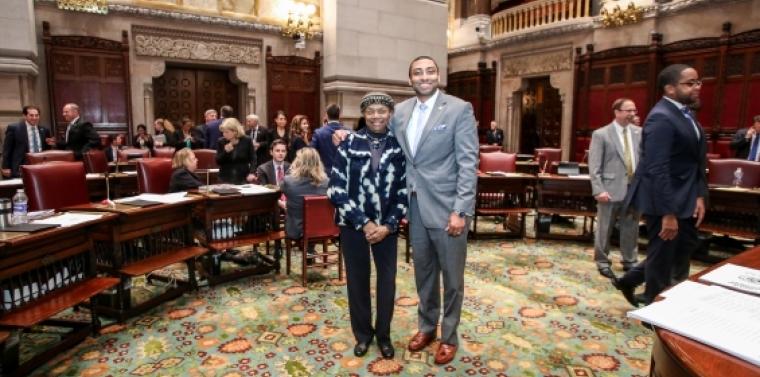 Senator Montgomery and Senator Bailey