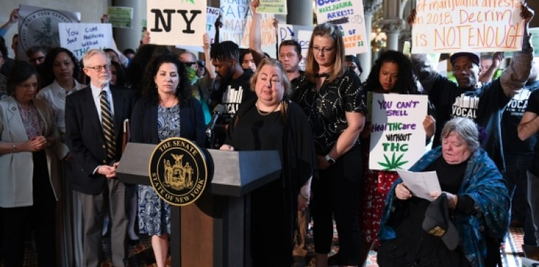 Press Conference on Marijuana Legalization