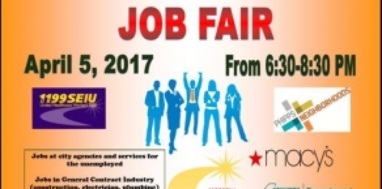 Banner design for job fair - D Az Sep Lveda And Crespo Expect Upcoming April 5 Job Fair To Be One Of The Greatest Ever