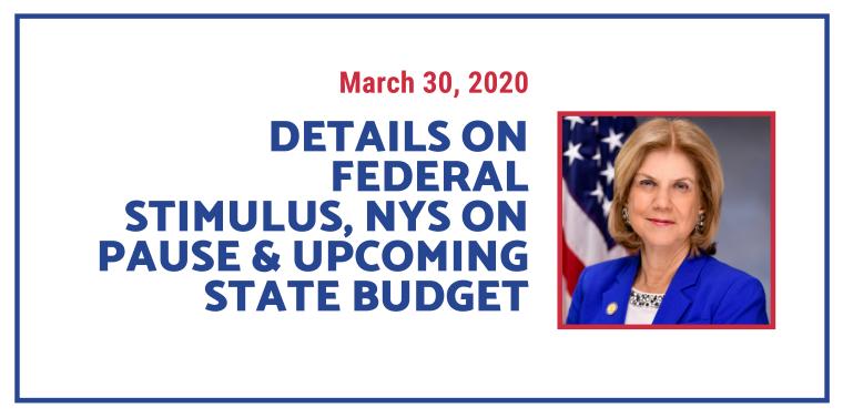 federal stimulus 3-30-2020