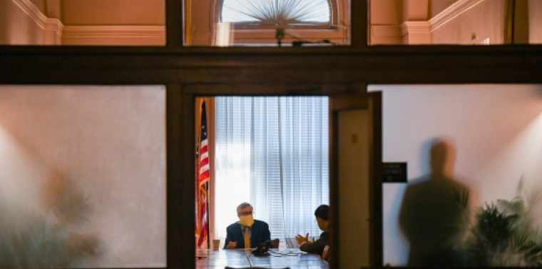 Housing Chair Kavanagh and Ranking Member Amedore Discuss Bills During Committee Meeting
